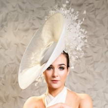 a23 sparkle & shine collection headpiece by guibert millinery