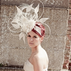 dramatic ivory headpiece by guibert.