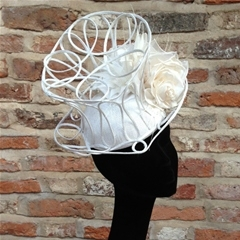 New for 2015. Guibert beret based topper with silk roses.