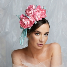 bb23 guibert headpiece in pastel pinks and blues