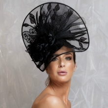 bb25 guibert black headpiece