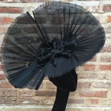 large black angel headpiece