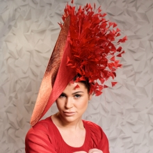a15 sparkle   shine large red hat by guibert a6273ddc0bf