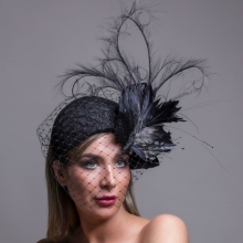 rtv9 guibert veiled bird headpiece