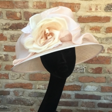 whiteley pale pink medium brim
